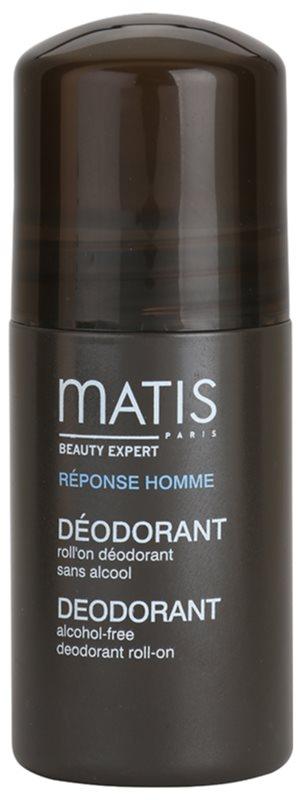 MATIS Paris Réponse Homme Roll-On Deodorant für alle Hauttypen, selbst für empfindliche Haut