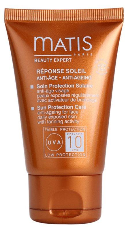 MATIS Paris Réponse Soleil крем проти зморшок для засмаги SPF 10
