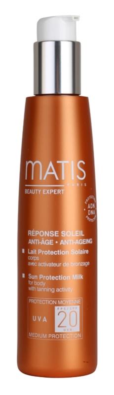 MATIS Paris Réponse Soleil lotiune pentru bronzat SPF 20