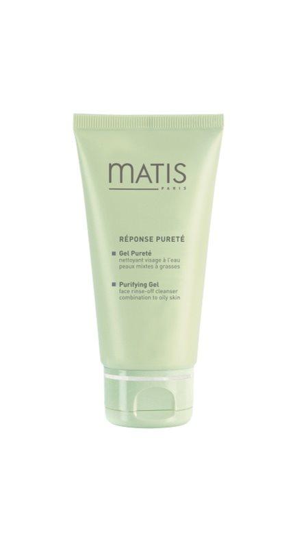 MATIS Paris Réponse Pureté почистващ гел  за смесена и мазна кожа