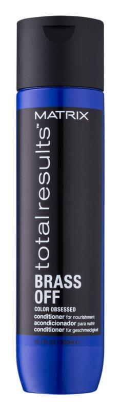 Matrix Total Results Brass Off výživný kondicionér s hydratačním účinkem