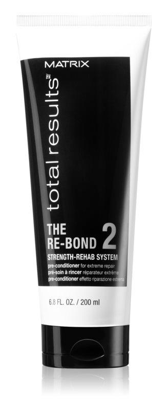 Matrix Total Results The Re-Bond regeneracijska nega pred uporabo balzama za šibke in poškodovane lase
