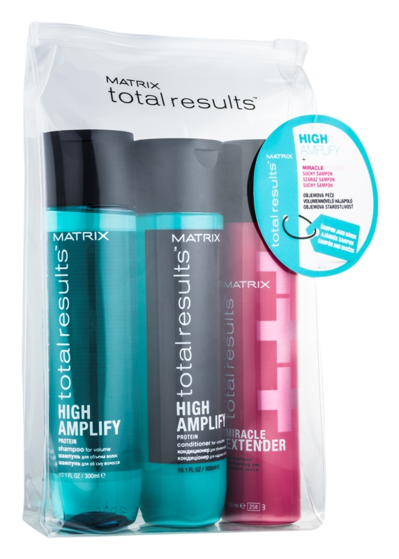 Matrix Total Results High Amplify lote cosmético I.