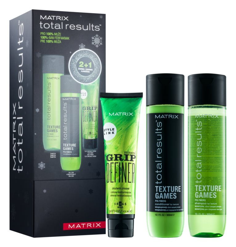Matrix Total Results Texture Games zestaw kosmetyków I.