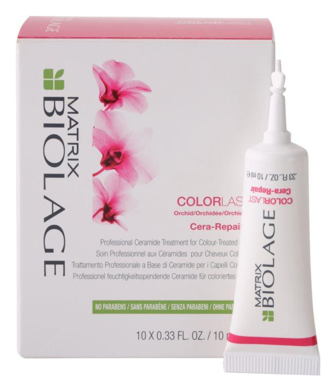 Matrix Biolage Color Last Cera-Repair vlasová kúra pro zářivou barvu vlasů
