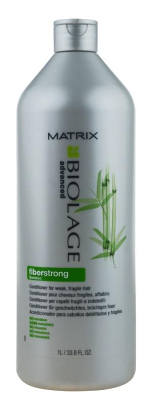 Matrix Biolage Advanced Fiberstrong kondicionér pre slabé, namáhané vlasy