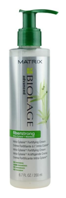Matrix Biolage Advanced Fiberstrong öblítés nélküli krémes ápolás gyenge, károsult hajra