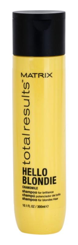 Matrix Total Results Hello Blondie поживний шампунь для освітленого волосся