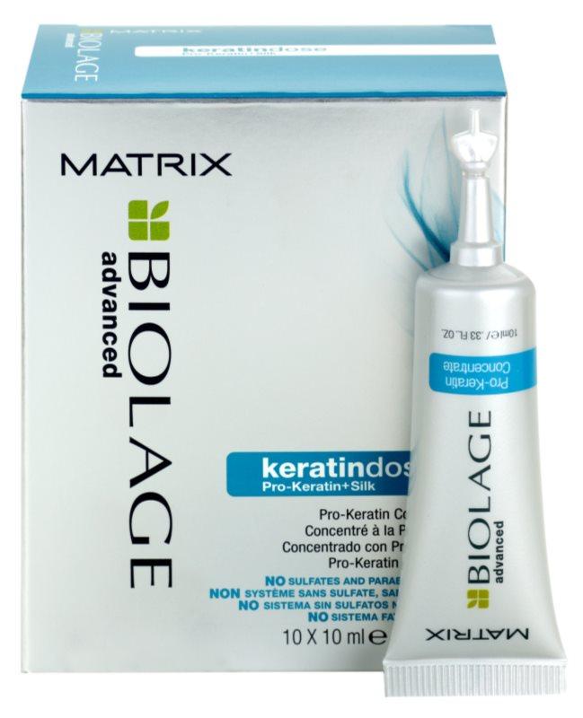 Matrix Biolage Advanced Keratindose pro-keratínová kúra pre poškodené vlasy