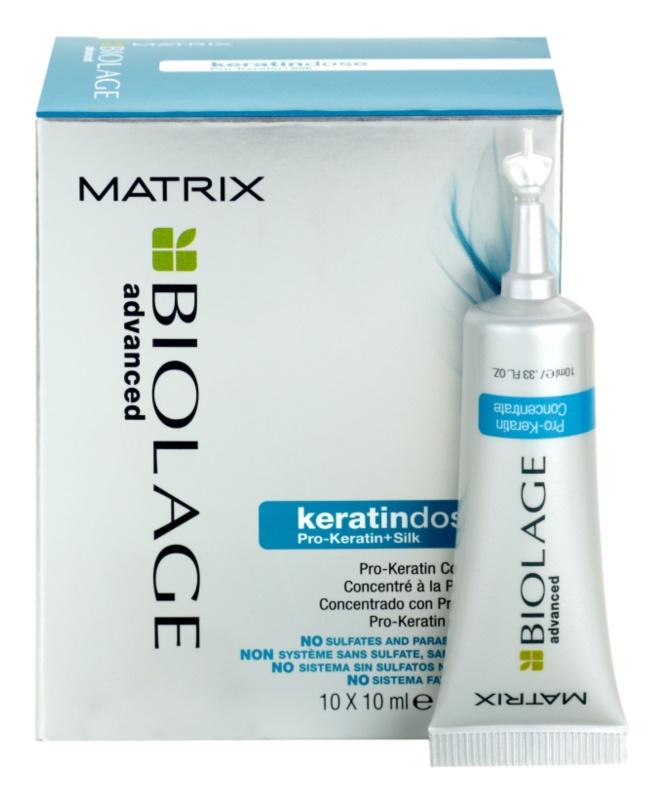 Matrix Biolage Advanced Keratindose tratament pe baza de keratina pentru par deteriorat