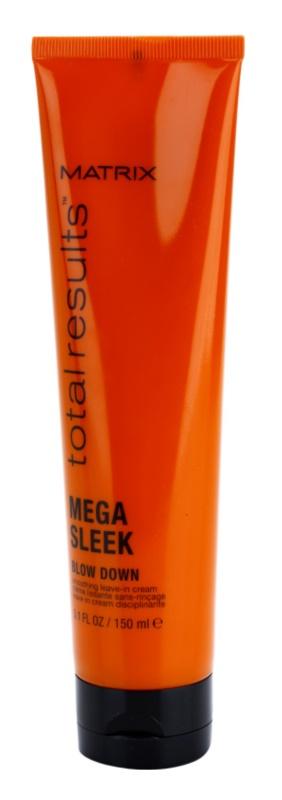 Matrix Total Results Mega Sleek uhlazující krém pro nepoddajné a krepatějící se vlasy