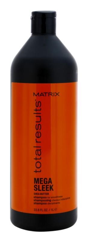 Matrix Total Results Mega Sleek champú para cabello encrespado y rebelde