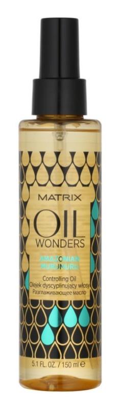 Matrix Oil Wonders Voedende Olie  voor Glanzend Krullend Haar
