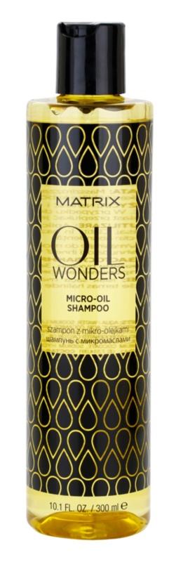 Matrix Oil Wonders mikro-olejový šampon pro lesk a hebkost vlasů