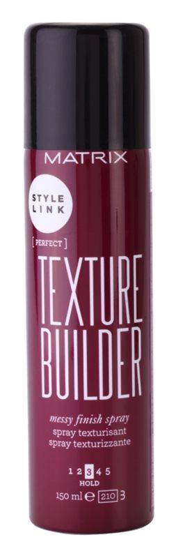 Matrix Style Link Perfect Haarspray für einen zerzausten Look