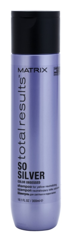 Matrix Total Results So Silver шампоан, защитаващ русите цветове на косата