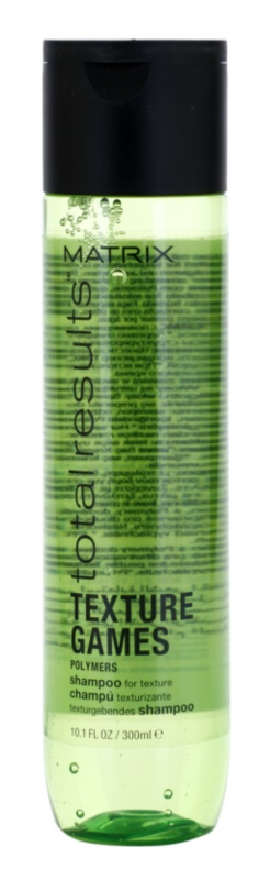 Matrix Total Results Texture Games Styling Shampoo with Polymers