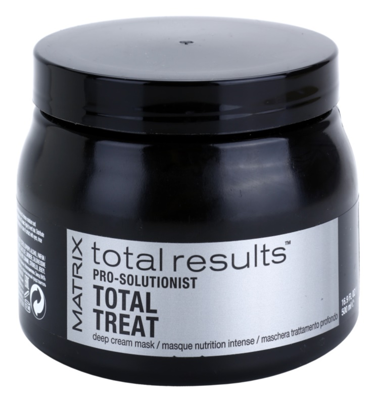Matrix Total Results Pro Solutionist maschera nutriente per capelli rovinati, trattati chimicamente