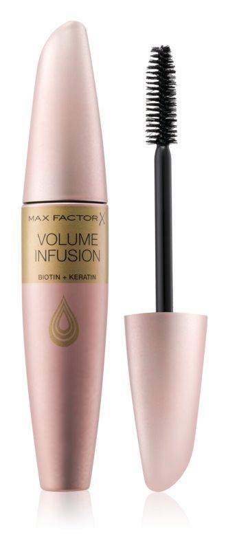 Max Factor Volume Infusion řasenka s keratinem s biotinem