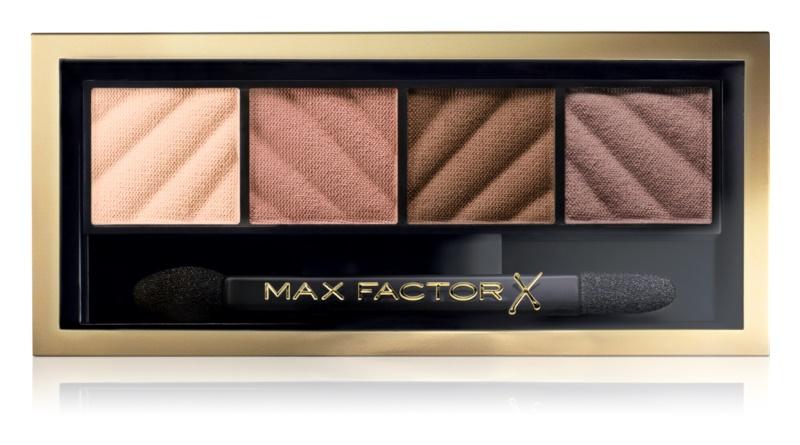 Max Factor Smokey Eye Matte Drama Kit палітра тіней