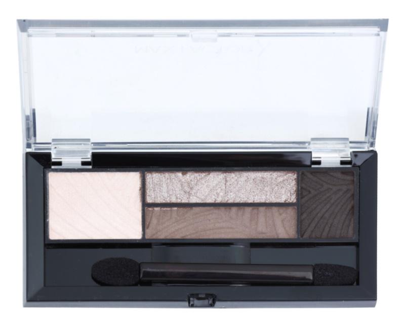 Max Factor Smokey Eye Drama Kit палітра тіней для повік та брів з аплікатором