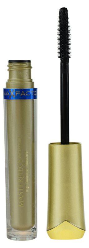 Max Factor Masterpiece mascara cu efect de volum rezistent la apa