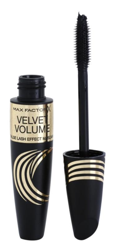 Max Factor False Lash Effect Velvet Volume туш для вій для об'єму