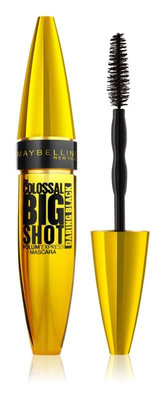 Maybelline Volum' Express The Colossal Big Shot Daring Black máscara para dar volume em cor preta extra