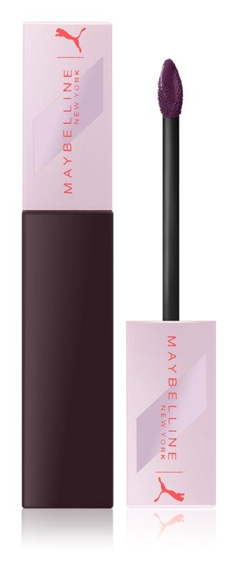 Maybelline Puma x Maybelline SuperStay Matte Ink batom líquido de longa duração