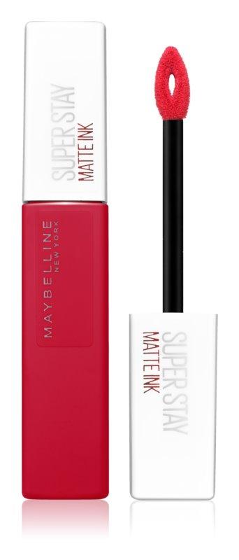 Maybelline SuperStay Matte Ink μακράς διαρκείας ρευστό κραγιόν ματ