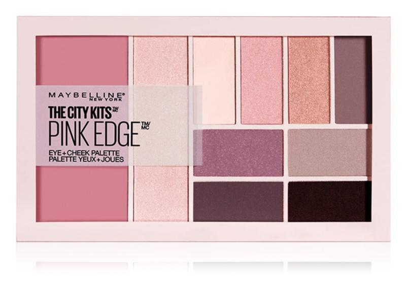 Maybelline The City Kits™ Pink Edge мультифункціональна палетка для обличчя та очей