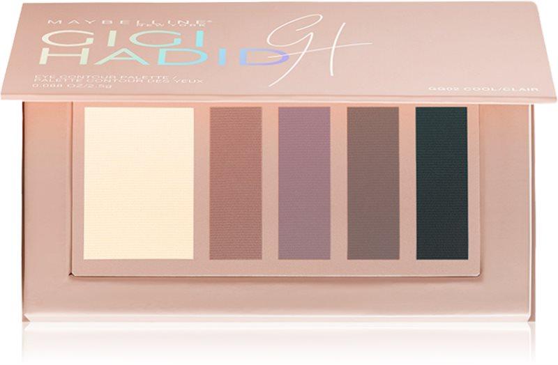 Maybelline Gigi Hadid paletka konturovacích očních stínů