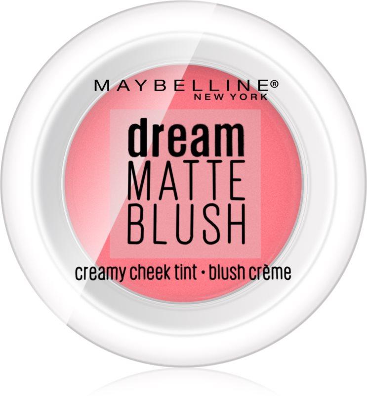 Maybelline Dream Matte Blush matná krémová tvářenka
