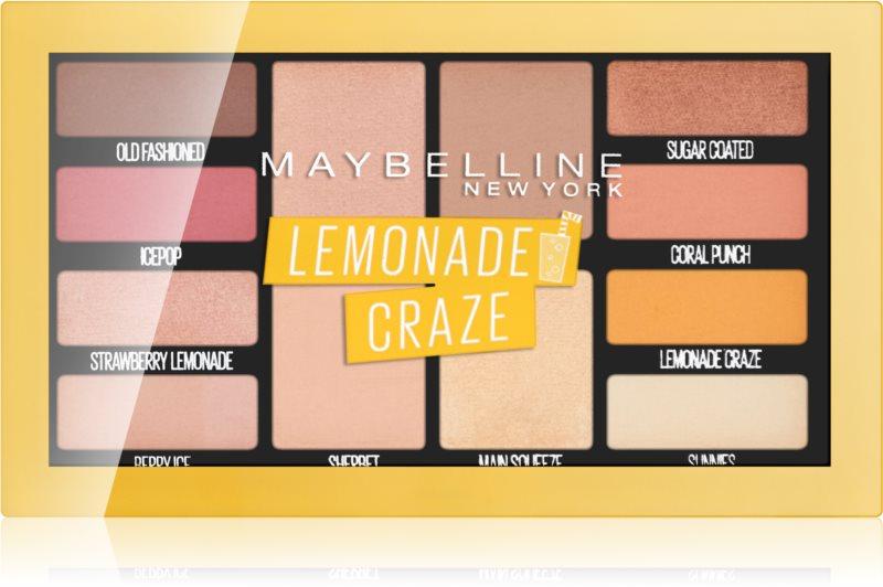 Maybelline Lemonade Craze paleta farduri de ochi