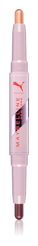 Maybelline Puma x Maybelline Matte + Metallic Eye Duo Stick sombras em stick
