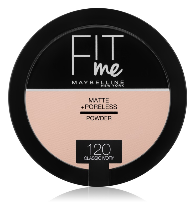 Maybelline Fit Me! Matte+Poreless pó matificante