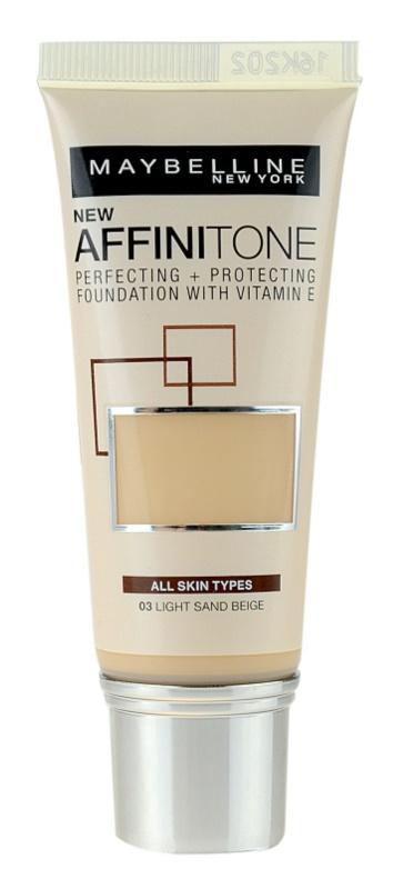 Maybelline Affinitone vlažilni tekoči puder