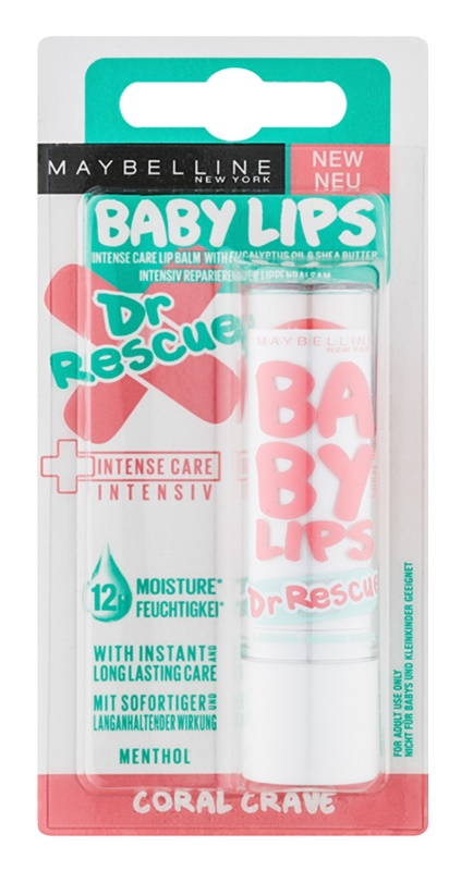 Maybelline Baby Lips Dr Rescue bálsamo hidratante para lábios com efeito resfrescante