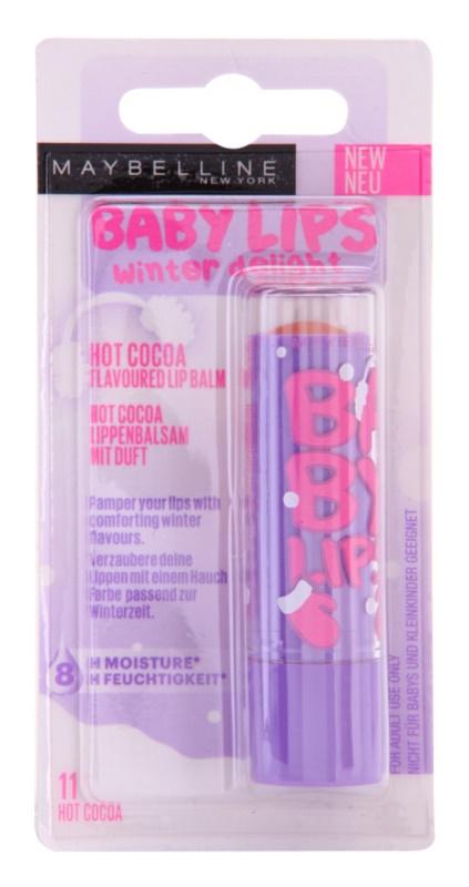 Maybelline Baby Lips Winter tónovací hydratační balzám na rty