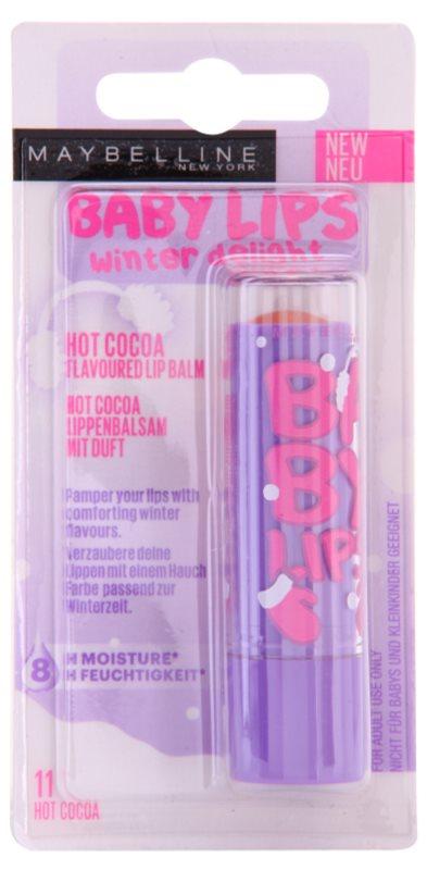 Maybelline Baby Lips Winter tonujący balsam nawilżający do ust
