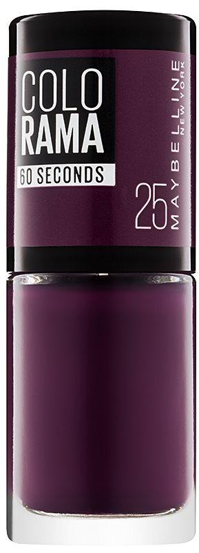 Maybelline Colorama 60 Seconds rychleschnoucí lak na nehty
