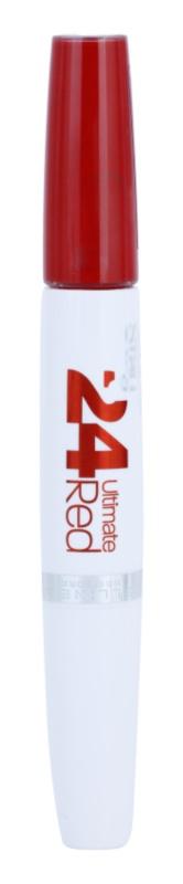 Maybelline SuperStay 24H Ultimate Red ruj de buze lichid balsam
