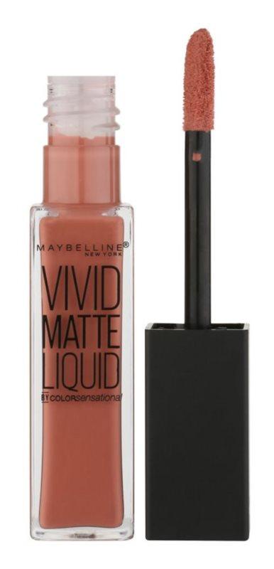 Maybelline Color Sensational Vivid Matte Liquid рідка помада з матуючим ефектом