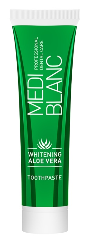MEDIBLANC Whitening Aloe Vera regenerative toothpaste with whitening effect