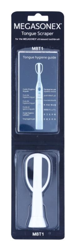 Megasonex M8T1 Ersatz-Zungenschaber für Schallzahnbürste