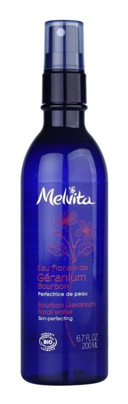 Melvita Eaux Florales Géranium Bourbon Gesichtswasser im Spray für perfekte Haut