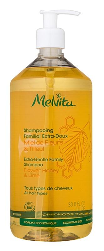 Melvita Hair extra enyhe sampon az egész családnak