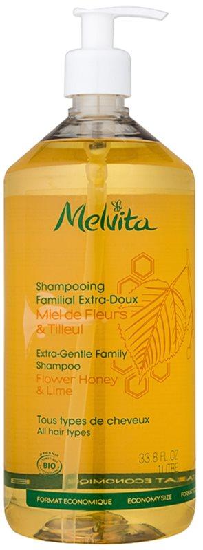 Melvita Hair extra jemný šampon pro celou rodinu