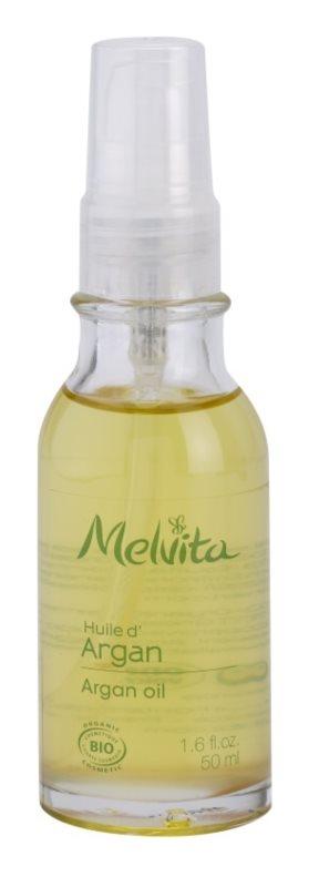 Melvita Huiles de Beauté Argan odżywczy olejek rewitalizujący do twarzy i ciała