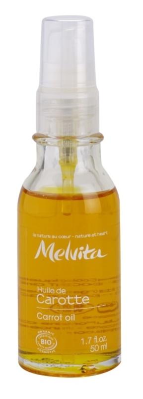 Melvita Huiles de Beauté Carotte mehčalno olje za naravno porjavelost za obraz in telo